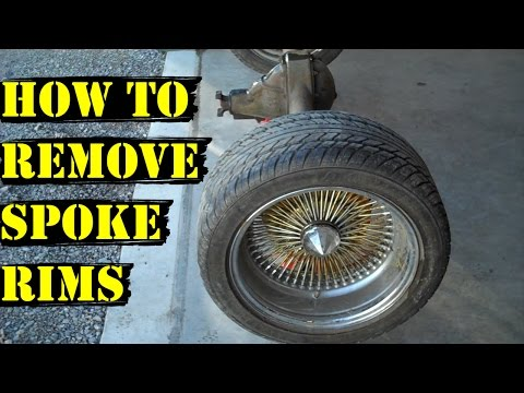 Update #3 - How To Remove Spoke Rims From Car - Aftermarket Wheels Mp3