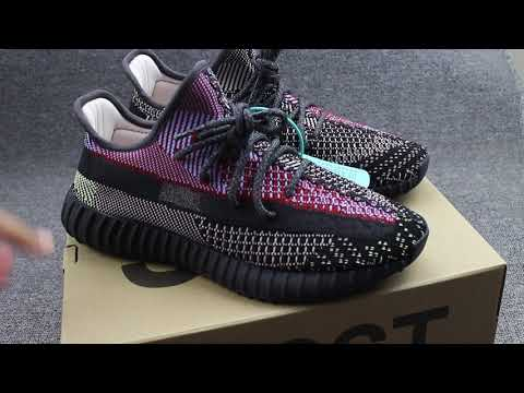 """First Look """" Yeezy Boost 350 v2 Yecheil Static """" Unboxing and On Foot"""