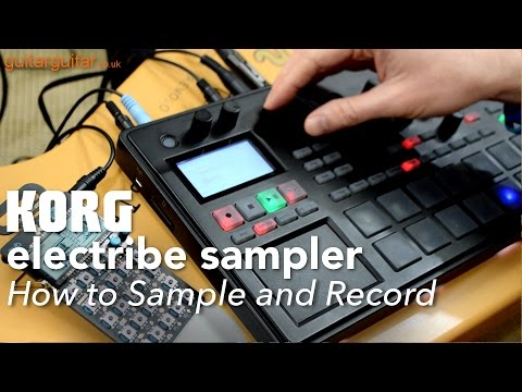 Korg Electribe Sampler 2 – How to Sample and Record