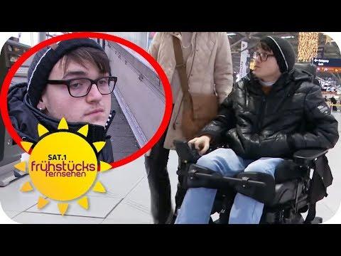 Ryanair zerrt Schwerbehinderten Noel (19) aus dem Flugzeug! | SAT.1 Frühstücksfernsehen