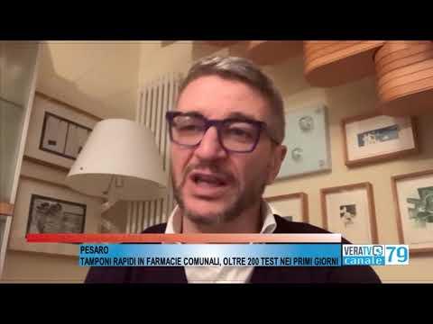 Pesaro - Tamponi rapidi nelle farmacie comunali, oltre 200 test nei primi giorni