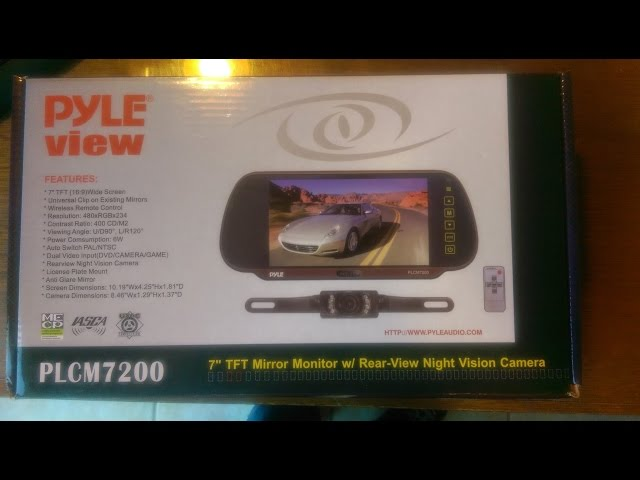 backup camera installation pyle view plcm7200. Black Bedroom Furniture Sets. Home Design Ideas