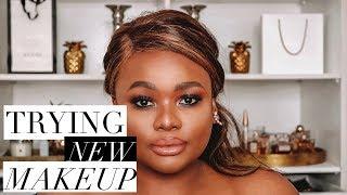 TRYING NEW MAKEUP (REVOLUTION, MAYBELLINE & MORE) | Cynthia Gwebu