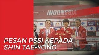 Pesan PSSI untuk Shin Tae-yong Jelang Laga Kualifikasi Piala Dunia 2022