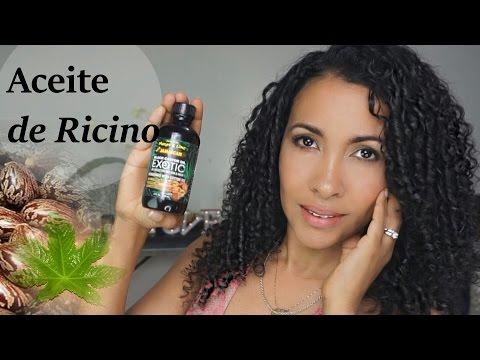 11 maneras de usar el aceite de ricino para el cabello y la piel.