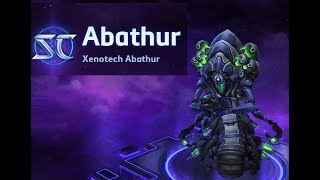 Heroes of the Storm Xenotech Abathur Skin Spotlight Mecha Abathur