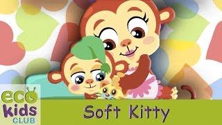 Soft Kitty, Warm Kitty from EcoKids Club - Children Nursery Rhyme - Kids Songs