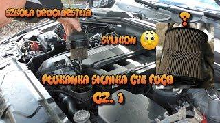 Szkoła Druciarstwa Lewatywa Płukanka Silnika BMW E60 Cyk Fuch Część 1 Wazzup :)