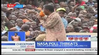 NASA poll threats : Raila Odinga still insists that IEBC must open it's server