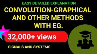 Convolution Part - 2 | Graphical Method and Other Methods with Example| Emmanuel Tutorials
