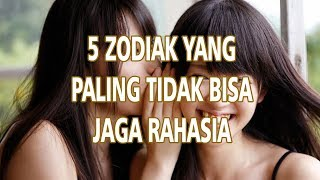 5 Horoskop Paling Tak Bisa Jaga Rahasia