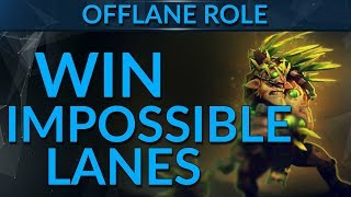 How to WIN IMPOSSIBLE Offlanes: Top Tips   Dota 2 Guide
