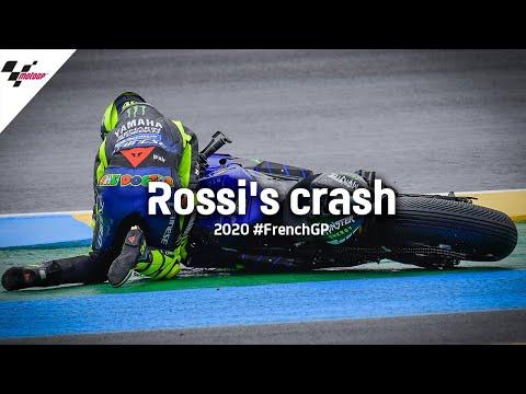 雨には定評のあるバレンティーノ・ロッシが転倒。波乱のMotoGP フランスGP 決勝レース動画