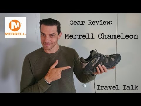 Best Walking Shoes for Men: Merrell Chameleon Shoe Review.