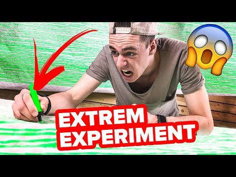 Extrem Experiment mit Textmarker - über 1000 Meter schreiben ! 😱  || Flowest
