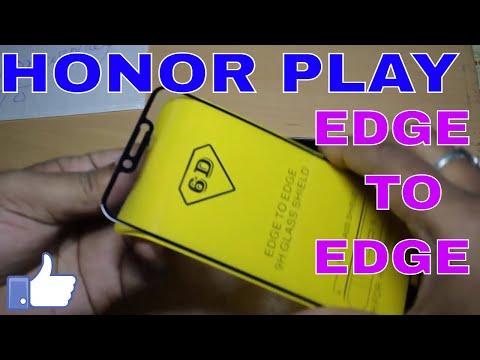 HONOR PLAY Edge to Edge toughened Glass | Best Toughened Glass for HONOR PLAY