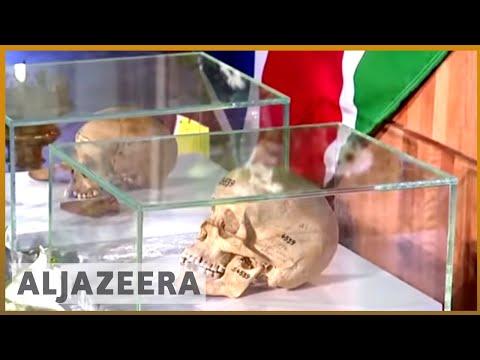 🇳🇦 🇩🇪 Tears, anger as Germany returns human remains seized from Namibia | Al Jazeera English