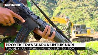 Zeni TNI Bangun Proyek Transpapua untuk NKRI