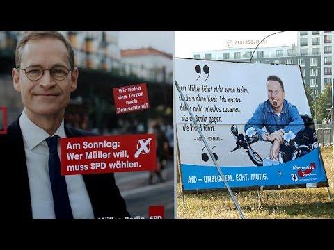 Γερμανία: Ήττα για το κόμμα της Μέρκελ στις περιφερειακές εκλογές του Βερολίνου