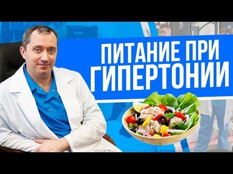 Питание, но не диета при гипертонии!