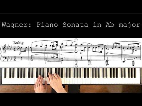 Wagner's Piano Sonata