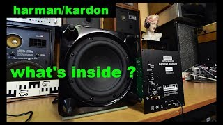 Subwoofer Harman Kardon HKTS 210 SUB 230 harman/kardon active woofer Bass Reflex Box