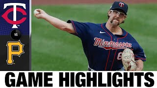 Randy Dobnak, Max Kepler lead 5-2 win | Twins-Pirates Game Highlights 8/5/20