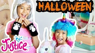 Jessalyn Grace 🎃 HALLOWEEN Costume Try-On 💗Justice