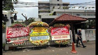 Karangan Bunga HUT Tribunnews ke 8 dari Presiden RI Hingga Ketua DPR