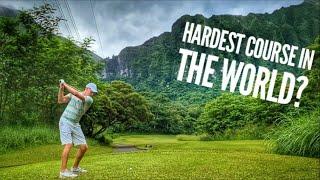 Can I Break Par? | Part 1 | Golfing At Ko'olau Golf Club In Hawaii