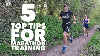 Watch this before you start marathon training (5 top tips)