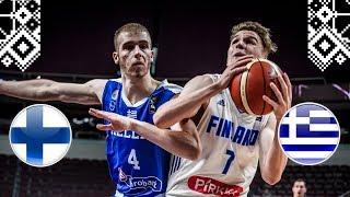 Finland v Greece - Full Game - Class. 13-14 - FIBA U18 European Championship 2018
