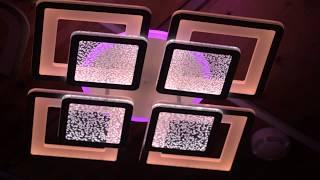 Видео о 8014/4C - GL led (160W) люстра