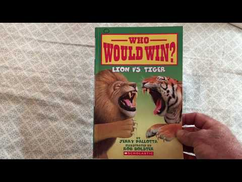 Who Would Win? Lion vs. Tiger - book review