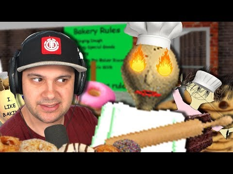I thought baking with Baldi would be fun... it wasn't. | Baldi's Basics
