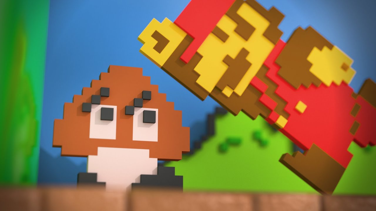 Super-Modern Mario Bros. Is Both Delightful And Terrifying