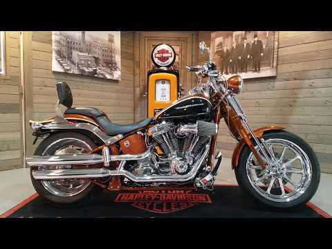 2008 Harley-Davidson CVO™ Screamin' Eagle® Softail® Springer® in Kokomo, Indiana - Video 1