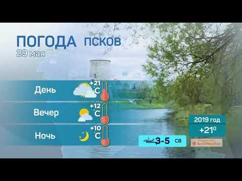 Прогноз погоды / 29.05.2020