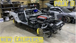 Rebuilding a Wrecked 2017 Dodge Viper Part 11