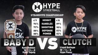 Hype Streetball - Baby D vs Clutch