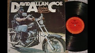 David Allan Coe Rides Again album-side 1-A Sense of Humor,Young Dallas Cowboy...