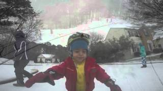 Apex, NC - Hollands Crossing Snow Day 2016