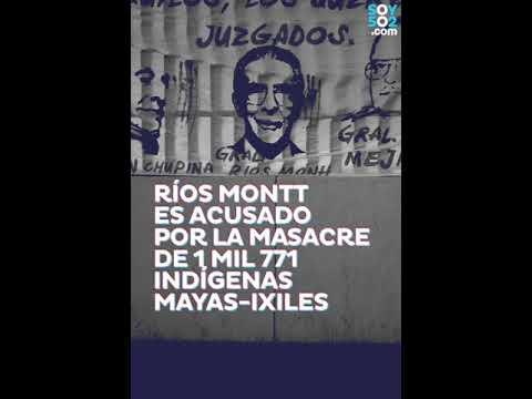 El Tribunal B de Mayor Riesgo prevé reiniciar hoy el juicio contra Efraín Ríos Montt