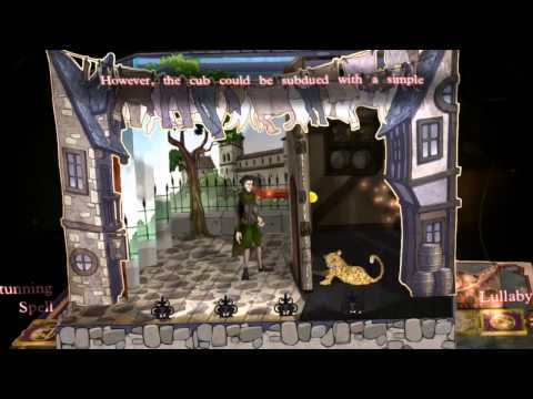 Wonderbook: Book of Spells – gameplay videa