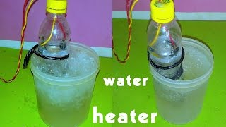 How to Make Water Heater by Spoons