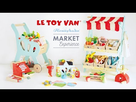 Le Toy Van Cheese & Dairy Market Crate