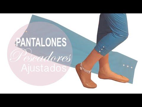 Pantalones Capri / Pescadores Ajustados