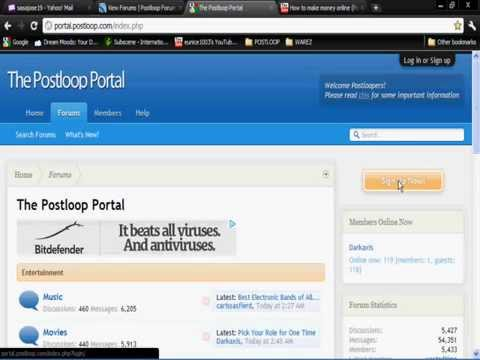 Earn money online with Paid Forum Posting