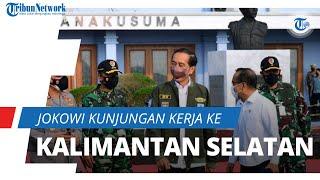 Jokowi Lakukan Kunjungan Kerja ke Kalsel, akan Resmikan Pabrik dan Jembatan hingga Tinjau Vaksinasi