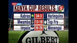 KENYA CUP RESULTS: Leaders Kabras beat Harlequins 34-3 | #KTNScoreline